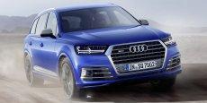 L'Audi SQ7 se revendique comme la voiture diesel la plus puissante du monde