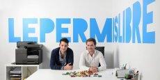 A 23 et 24 ans, Lucas Tournel et Romain Durand ont fondé leur propre startup : Le Permis Libre.