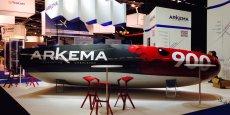 Le Mini 6.50 Arkema Innovation est le tout premier bateau de compétition fabriqué via une résine composite recyclable.
