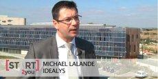 Michael Lalande, créateur de la société Idéalys