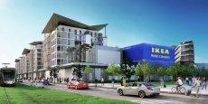 Le Ikea qui s'installera en 2018 dans l'éco-quartier Saint-Isidore comprendra aussi bureaux, logements et commerces.