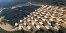 La centrale solaire du Mouruen, dans le Var, a été mise en service par La Compagnie du Vent en 2015.