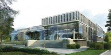 Le futur centre administraif de La-Motte-Servolex sera construit en granit, en verre et en bois.