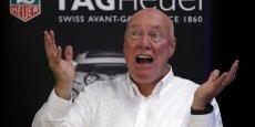 Jean-Claude Biver donne aujourd'hui le tempo aux trois marques du groupe de luxe, TAG Heuer, Hublot et Zenith.