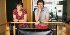 Claire Burgain et Clément Debeir, deux des fondateurs de SapienSapienS