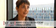 Marie-Cécile de Faucigny, fondatrice de CrossShopper