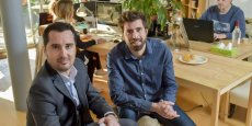 Elien Meynard et Xavier Chetif, cofondateurs d'Hipok