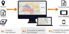 Mapotempo propose une solution simple et mobile pour optimiser ses tournées.