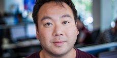 William Shu, 36 ans, le co-fondateur et PDG de Deliveroo, le service de livraison de plats à domicile créé au Royaume-Uni en 2013 et lancé en France en avril 2015.