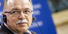 Dimitris Papadimoulis, Vice-President du parlement européen et chef de la délégation de Syriza.