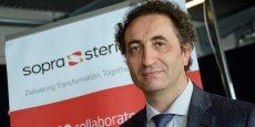 Manuel da Rocha, senior partner au sein de la division Conseil assurance et protection sociale de Sopra Steria, était présent à Bordeaux à l'occasion de la Semaine digitale