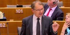 « La création d'une commission d'enquête parlementaire est sur la bonne voie, j'ai eu un retour positif de la part des autres groupes », a expliqué le président du groupe Verts-ALE, Philippe Lamberts.