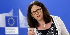 Cecilia Malmstrom, la commissaire européenne chargée du commerce, est en pointe dans les négociations du TTIP.
