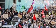 Manifestation du 17 mars à Bordeaux
