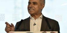 Sadiq Khan, travailliste, favori aux élections municipales à Londres ce jeudi.