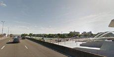 l'A7 à l'entrée sud de Lyon, vient d'être déclassée.