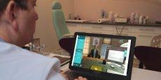 La plateforme MedicActiV s'appuie sur la simulation numérique et permet de créer des cas cliniques virtuels pour les professionnels de santé.