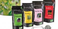 Ineobio, entreprise bordelaise produisant notamment le thé bio Destination passe dans le giron de Wessanen, propriétaire de Distriborg