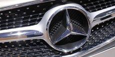 Les ventes de Mercedes se sont envolées de 15% sur les quatre premiers mois de l'année.