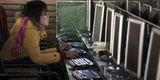 En Chine, seulement 22% de la population dispose d'un revenu lui permettant de s'offrir une connexion à internet.