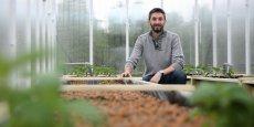 Pierre Oswald, fondateur de Citizen Farm, travaille depuis un an à la mise en place de cette ferme urbaine