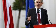 Alexander Van der Bellen a remporté la présidentielle autrichienne