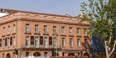 Les futurs locaux de Midi2i, allées Roosevelt à Toulouse