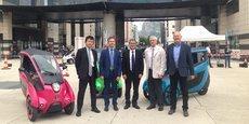 Les partenaires ont dressé un premier bilan, un an et demi après le lancement de Cité Lib by Hamo.