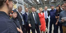 La politique économique impulsée par Christian Estrosi - ici en visite chez Airbus Helicopters - sera-t-elle poursuivie par son successeur, Renaud Muselier ?