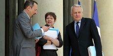 Avant d'être nommée directrice générale adjointe de la Caisse des dépôts, en 2013, Odile Renaud-Basso est passée par le cabinet du Premier ministre Jean-Marc Ayrault (ici sur le perron de l'Elysée, en juin 2013).
