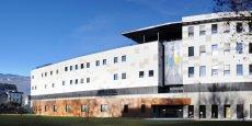 Le centre de recherche biomédicale Clinatec au coeur du CEA de Grenoble