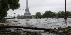 A Paris, la crue de la Seine pourrait atteindre vendredi dans la soirée un pic à 6,50 mètres.
