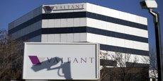 Valeant a accusé sur le trimestre clos le 31 mars une perte nette, part du groupe, de 373,7 millions de dollars (328,7 millions d'euros), soit 1,08 dollar par action, contre un bénéfice de 97,7 millions (28 cents par action) un an plus tôt
