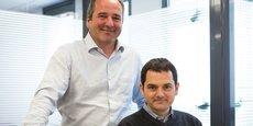Xavier Levesy et Louis Veyret, les deux fondateurs d'United Motion Ideas.