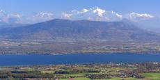Divonne-les-Bains face au Mont-Blanc © Mairie de Divonne-les-Bains