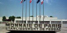 L'usine de la Monnaie de Paris, à Pessac, va produire 300 millions de pièces en 2016 et 2017 pour le royaume. (Photo de l'usine en 1998)