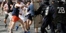 De violents incidents sont survenus à Marseille, avant et à la fin du match Angleterre-Russie.
