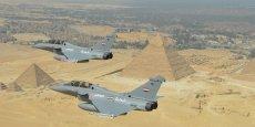 L'Egypte a acheté pour sept milliards d'euros à l'industrie d'armement française entre 2014 et 2017