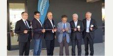 Le 15 juin, lors de l'inauguration des nouveaux locaux de l'agence Engie Cofely Languedoc-Roussillon, à Montpellier.