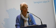 Anne-Marie Cocula, chef de file du groupe de travail auteur du rapport sur le nouveau nom de la région ALPC