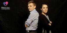 Agathe Zebrowski et Sylvain Lhuissier