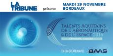 La 1re édition des Talents de l'aéronautique et de l'espace avait accueilli plus de 500 personnes au Palais de la Bourse à Bordeaux lors d'une table ronde puis d'une remise de prix.