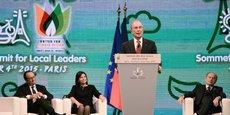 Christina Figueres était à Bruxelles aux côtés de Maroš Šefčovič, le commissaire à l'union de l'énergie, et Michael Bloomberg (photo), homme d'affaires et envoyé spécial de l'ONU pour le climat, à l'occasion du lancement de la Convention mondiale des maires.
