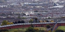 Belfast est encore divisée par des murs. L'Irlande du Nord devrait rejeter le Brexit.