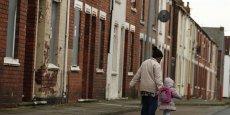 Une rue de Middlesbrough, où l'on a voté pour le Brexit à 65 %.