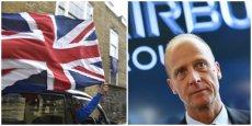 Tom Enders, président exécutif d'Airbus group s'est dit déçu du Brexit