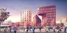 Un premier bâtiment de 10 000 mètres carrés accueillera dès 2018 les 500 agents de la Caisse primaire d'assurance maladie de la Loire.