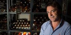 Silvio Denz, entrepreneur, collectionneur d'art mais aussi très présent dans le monde du vin
