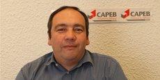 Sylvain Fornes, président de la Capeb Rhône.