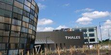 Plus de 2.000 salariés travaillent sur le campus de Thales à Mérignac dans la métropole bordelaise.